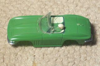 Vintage 1965 Corvette Tyco Atlas Slot Car Lot not Aurora
