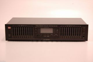 BSR Model EQ 3000 Home Audio Stereo Equalizer Theater Entertainment