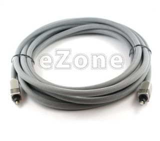 2X 16ft High Performance Digital Optical Audio Toslink Cable