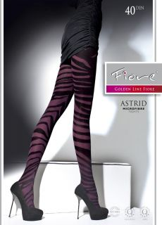 ASTRID SEMI OPAQUE MICROFIBER TIGHTS PANTYHOSE BLUEBERRY size S