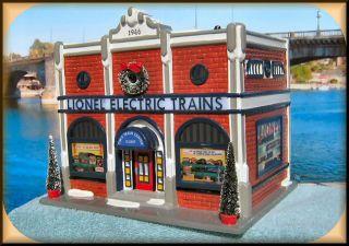 Electric Train Shop #54947 NEW Department Dept. 56 Snow Village D56 SV