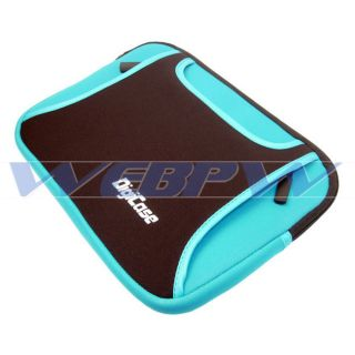 Neoprene Sleeve Case Asus Toshiba HP Laptop Notebook Blue Bag