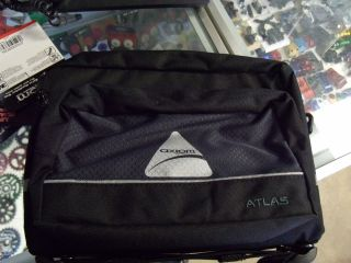 Axiom Atlas Black Bicycle Handlebar Bag