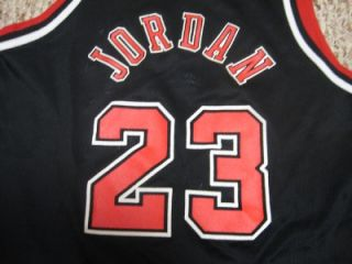 JORDAN VINTAGE CHAMPION #23 CHICAGO BULLS JERSEY YOUTH 8 10 EX SHAPE