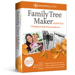 Family Tree Maker 2012 Full Version Family History Ancestry Genealogy