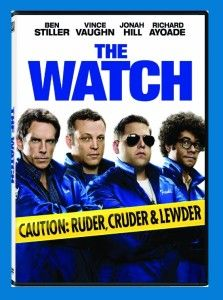 The Watch (DVD, 2012)  & Free Personalized Christmas Card