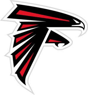 Atlanta Falcons Logo Window Wall Sticker Vinyl Car Decal Any Colors