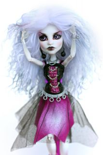 Monster High Spectra Vondergeist Repaint OOAK Custom Doll