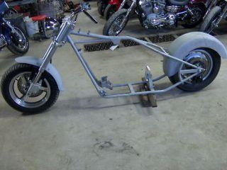 Harley Atlas Pro Magnum Frame Old School Chopper New Roller