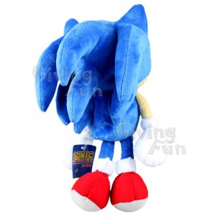 SONIC THE HEDGEHOG 8 SONIC SEGA Game Soft Plush Figure Doll Toy