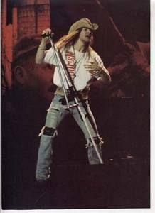 AXL Rose Mini Poster Pin Up Guns N Roses LK9