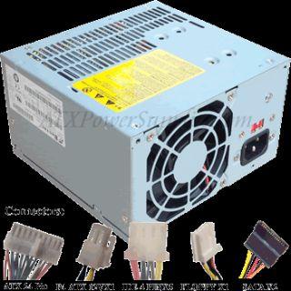650 Watt Power Supply for Bestec ATX 250 12E 500W 550W