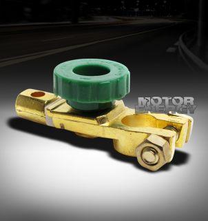 UNIVERSAL AUTOMOTIVE BATTERY TERMINAL DISCONNECT SWITCH BRASS CAR