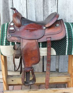 Used 16 Tex Tan Flex Tree Saddle, Hereford Texas