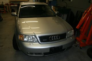 make model audi a6 color silver paint code ly7w engine 2 7 twin