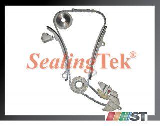 2002 06 Nissan QR25DE 2 5L Engine Timing Chain Gear Kit Set Components