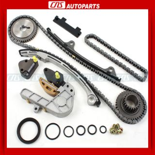 Timing Chain Kit w Seal Set QR25DE Engine 2002 06 New Parts