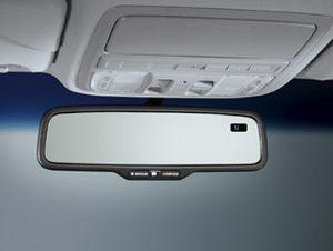 07   08 Acura MDX Auto Dim Rear View Mirror w/ Compass