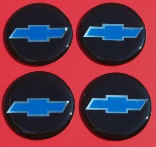 Set of Chevy Chevrolet Car Truck Van Wheels Rims Hubcap Emblems Decals