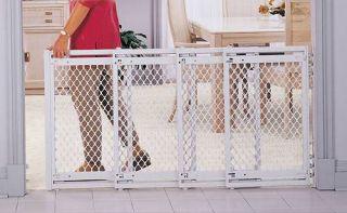Big 2 3 4 5 Foot Wide Plastic Baby Dog Pet Safety Gate V Feet