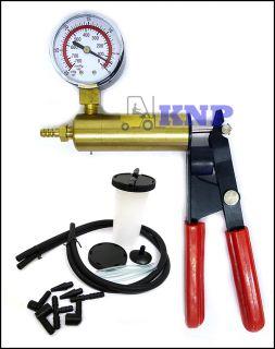 Brake Bleeder & Vacuum Pump Test 2 In 1 Set Tools Auto Cars & Trucks