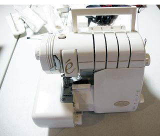 Baby Lock BLV   BLE8 Evolve Sewing Machine Serger Chain Stitch Cover