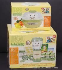 MAGIC BULLET   Baby Bullet Food making system, and Bullet Steamer NEW
