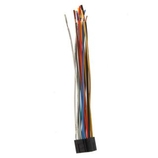 Car Sound Radio Stereo Wire Harness Plug Cable 16 Pin Connector for
