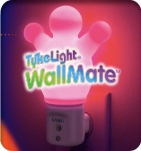 Mobi Tykelight Wallmate Color Changing LED Night Light