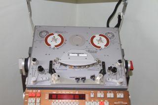 Rare Nagra T Audio reel to reel tape recorder with meterbridge