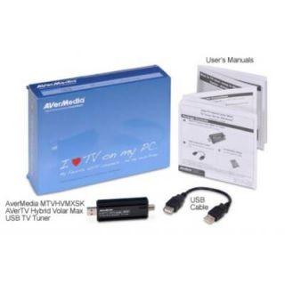 AVerMedia MTVHVMXSK AVerTV Hybrid Volar MAX TV Tuner USB   ATSC, NTSC