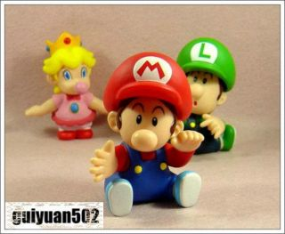 New Super Mario Bros Figure Baby Mario Toy THMR