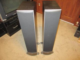NICE POLK AUDIO RTi8 TOWERS PAIR SPEAKERS MSRP 1000 HOME AUDIO