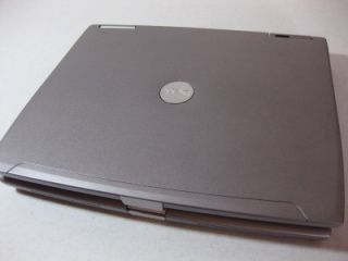 Dell Laptop D610 1 73GHz Centrino 512MB XP Pro CD RW Plays DVDs Great
