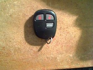 PURSUIT AUDIOVOX ALARM REMOTE KEYLESS ENTRY KEY FOB BGAOE3B