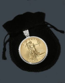 Saint Gaudens Double Eagle Commemorative Medallion Pendant SRB