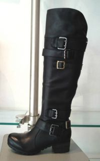New Bacio 61 PROFONDO Knee High Tall Shaft Engineer Combat Boot