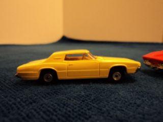 Vintage Aurora Cigar Box Car Thunderbird Mako Shark Corvette #6110