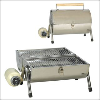 BBQ Stainless Steel Camp Grill Stove Camping Backpacking