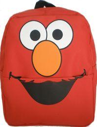 Sesame Street Elmo Jr Mini Backpack Purse Size Bag Student Schoolbag