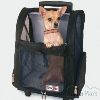 Small Dog 7 lb Pet Wheeled Carrier Backpack Car Seat