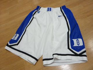 Devils Authentic Game Jersey Home Basketball Shorts NCAA M RARE