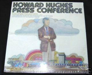 Howard Hughes Press Conference LP Record Wayne Thomis