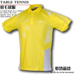 New 2011 Victor Men Team Korea Badminton Shirt 36012