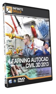 Infiniteskills AutoCAD Civil 3D 2013 Tutorial Video Training DVD ROM 9