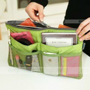 Handbag Organiser Purse Large Liner Organizer Bag 5 Colors