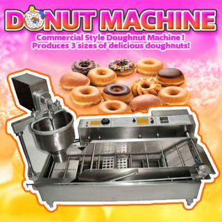 Donut Machine Fryer Maker Automatic Bakery Commercial Business