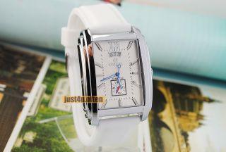 Silicon Elegant Mens Calendar Automatic Mechanical Wrist Watch Fashion