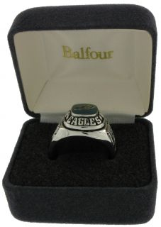 Balfour Ring Boxed Football NFL Philadelphia Eagles Sz 7