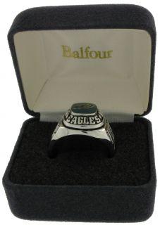 Balfour Ring Boxed Football NFL Philadelphia Eagles Sz 7
